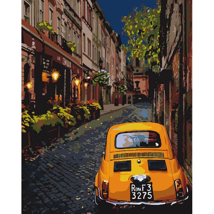 """Картина по номерам Идейка """"Городской уют"""" 40*50 см KHO3576"""