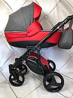 Детская универсальная коляска 2 в 1 Коляска 2 в 1 Baby Pram Bellinil  ( Красная ), фото 1