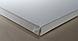 Холст на подрамнике Factura Unico 45х45 см Итальянский хлопок 326 грамм кв.м. мелкое зерно, белый, фото 3