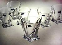 Стаканы для виски 6 шт Quadro Bohemia 2k936-99A44-340