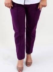 Женские медицинские брюки Avrora фиолетовые