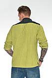 Рубашка мужская OMAT E- GML 003 Oliv, фото 3