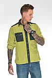 Рубашка мужская OMAT E- GML 003 Oliv, фото 5