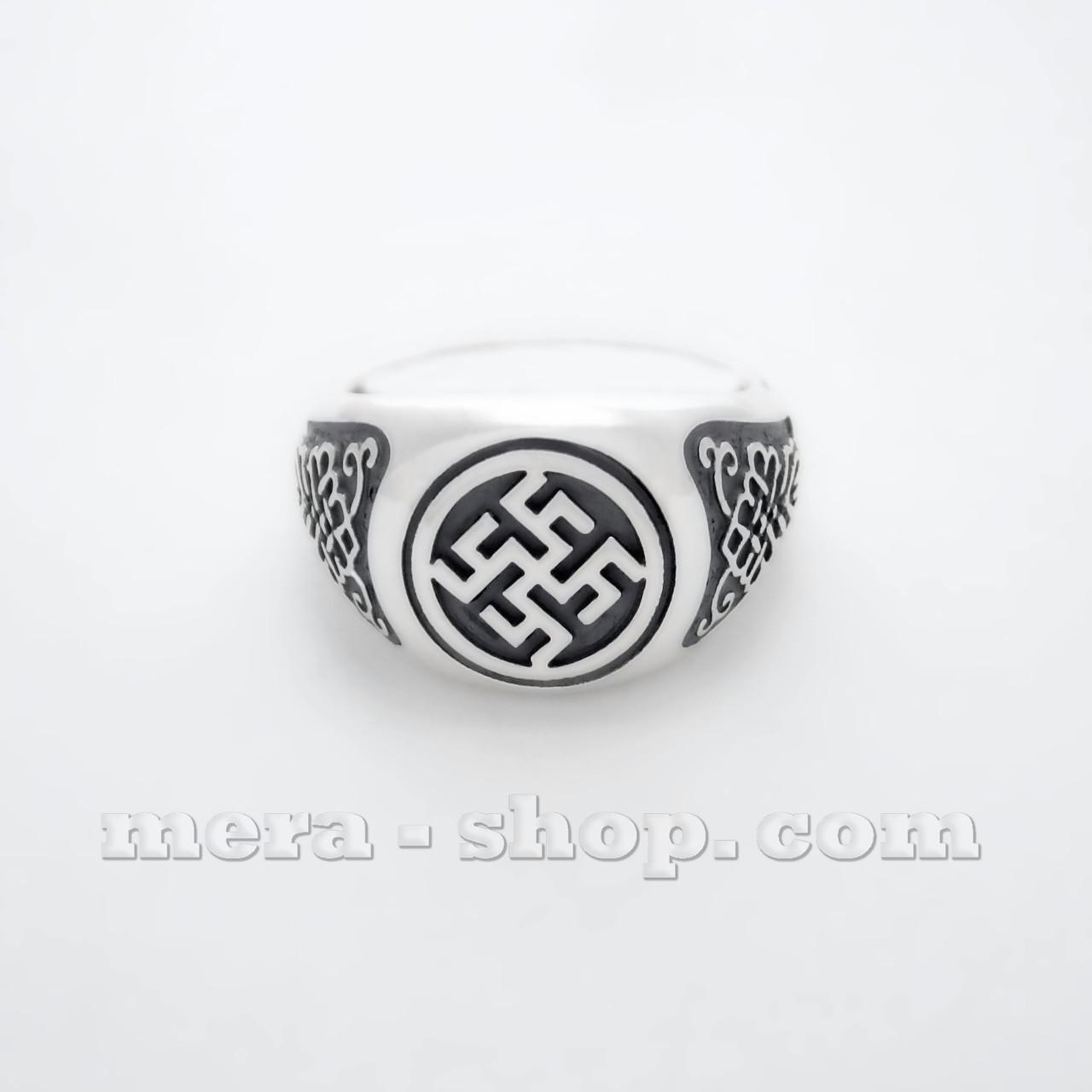 Перунов Цвет перстень из серебра 925 пробы