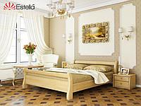 Ліжко двоспальне, ортопедична, дерев'яна Діана 160х190