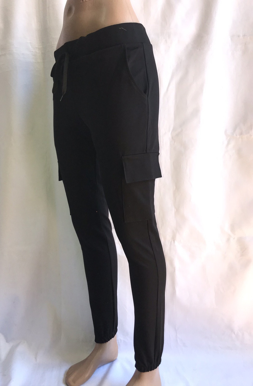 Женские спортивные штаны манжет