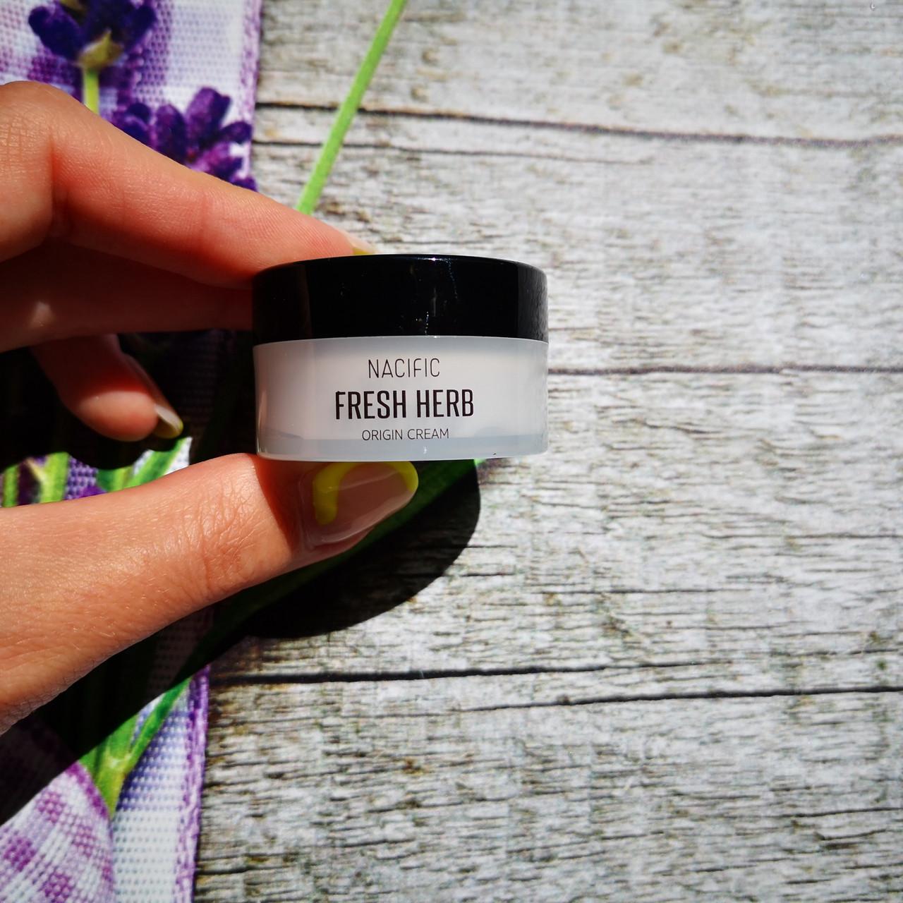 NACIFIC Увлажняющий антивозрастной крем Fresh Herb Origin Cream