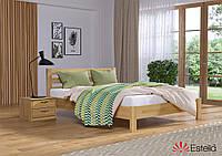 Ліжко односпальне, ортопедична, дерев'яна Рената Люкс 80х190
