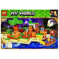Конструктор Bela Minecraft (11132) На риболовлі, 183 деталі