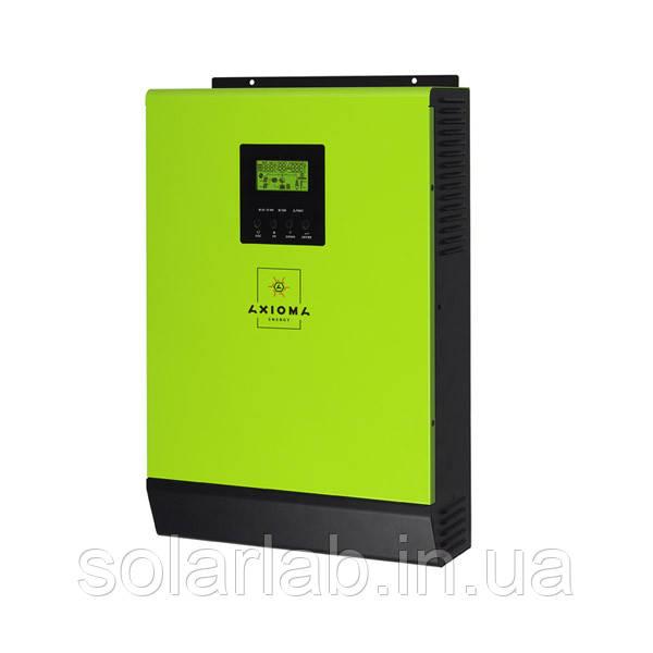 AXIOMA energy Сетевой солнечный инвертор с резервной функцией 3кВт, 220В, ISGRID 3000, AXIOMA energy