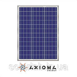 AXIOMA energy Солнечная батарея (панель) 50Вт, поликристаллическая AX-50P, AXIOMA energy