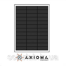 AXIOMA energy Солнечная батарея (панель) 50Вт, монокристаллическая AX-50M, AXIOMA energy