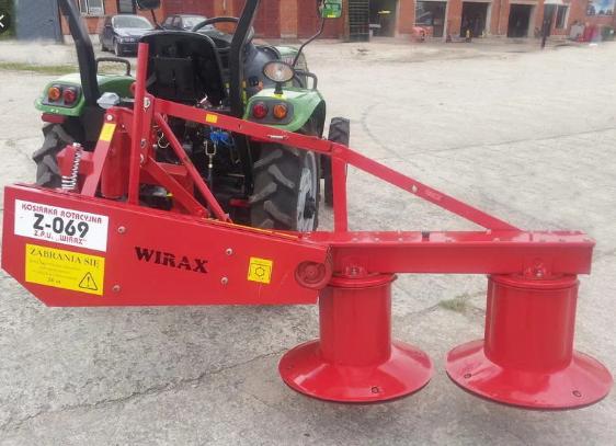 Роторная косилка   Wirax 1.65  к трактору (Виракс)