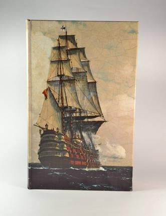 Книга сейф Парусник 26 см, фото 2
