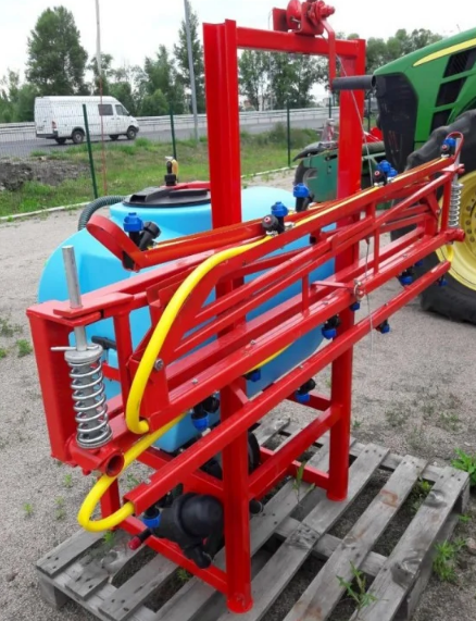 Оприскувач 400л / 12 м на трактор навісний Polmark (Полмарк)