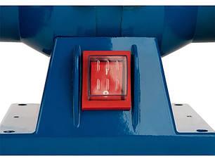 Точильний верстат (150 мм, 200 Вт) BauMaster BG-60150, фото 2