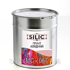 Грунтовка (Силик) для металла МС-067 серая 25кг