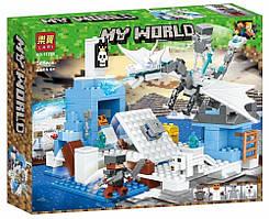 Конструктор LARІ Minecraft Атака крижаного дракона 11266 (Аналог LEGO Minecraft) 365 дет