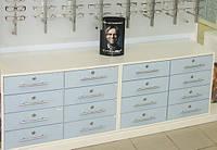 Мебель для аптек и оптик на заказ
