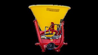Разбрасыватель удобрений Strumyk 500 л. гидравлический (пластик, диск из нержавейки) на трактор