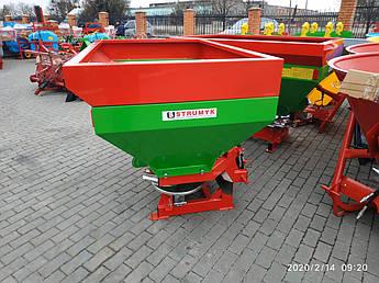 Разбрасыватель удобрений Strumyk 1000 л на трактор