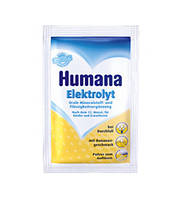 Хумана электролит с бананом, 6,25 гр. от 1 года