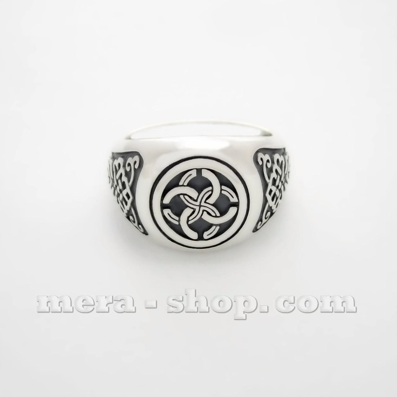 Свадебник перстень из серебра 925 пробы