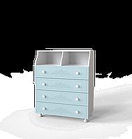 Комод Amelie 80 Блакитна лагуна