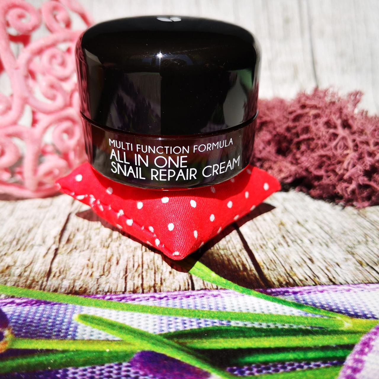 Восстанавливающий крем для лица Mizon All in One Snail Repair Cream 92% Snail Extract