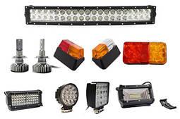 Фары LED, противотуманные,фары рабочиe, Фонари