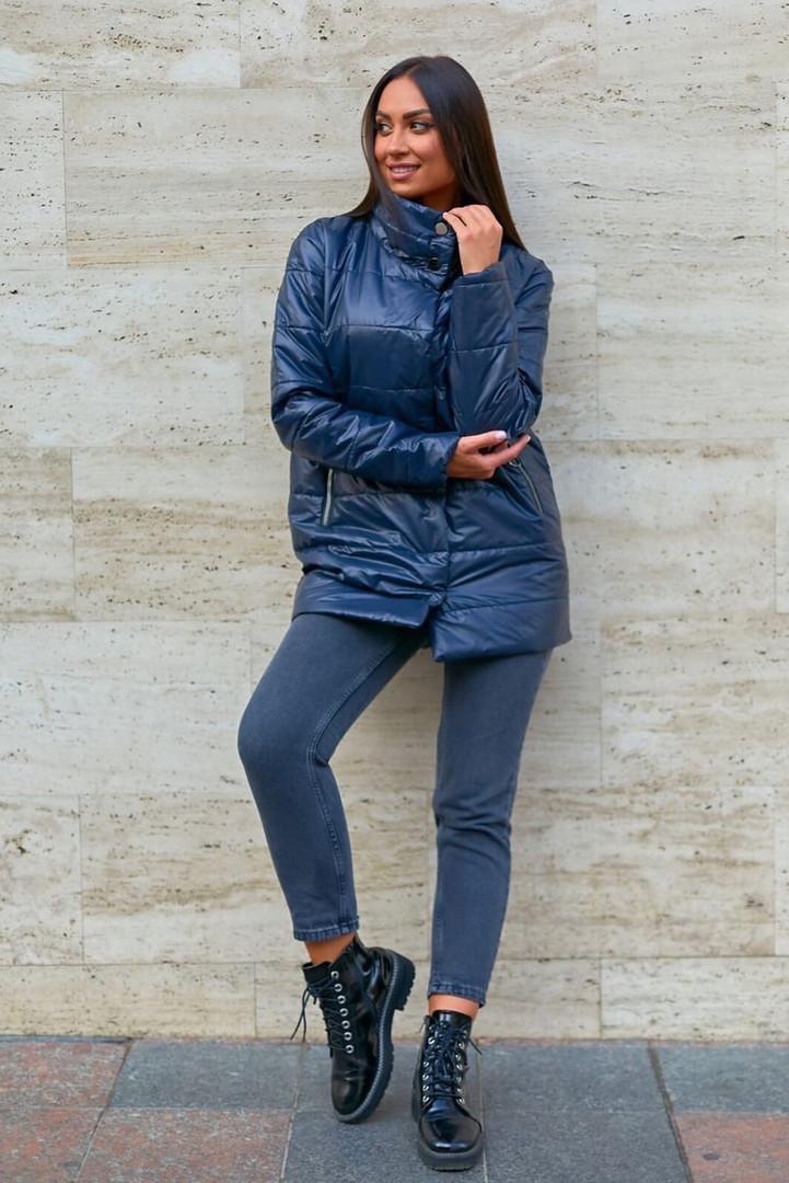Куртки женские стеганые удлиненная больших размеров, Модная стеганая куртка для женщин больших размеров