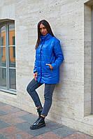 Куртки женские стеганые удлиненная больших размеров, Модная стеганая куртка для женщин больших размеров, фото 5