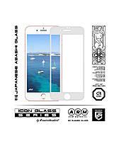 Защитное стекло 3D для Apple iPhone 8 Plus/7 Plus White /захисне скло на