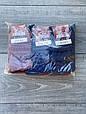 Жіночі носки шкарпетки стрейчеві Житомир Люкс з малюнком листочків 36-40 12 шт в уп чорні бордові сірі, фото 3