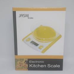 Кухонні Ваги JASM Scales JM-86 до 5 кг Помаранчеві