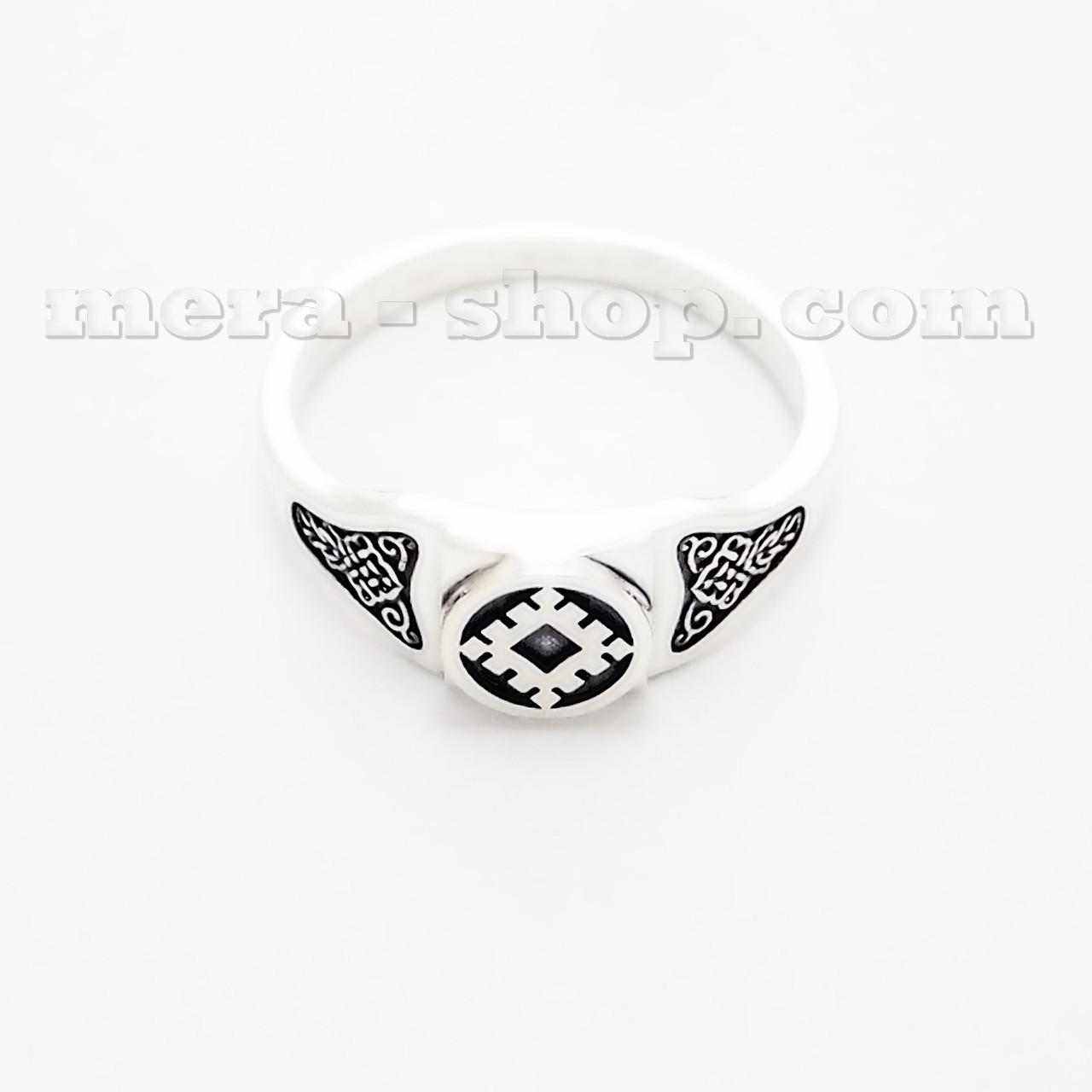 Репейник Счастья кольцо из серебра 925 пробы