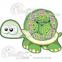 Часы настенные Черепаха детские МДФ 34 * 4,5 * 24см