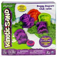 Набор для творчества KINETIC SAND Doggy фиолетовый, зеленый (71415Dg)