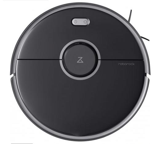 Робот-пылесос с влажной уборкой Xiaomi RoboRock Vacuum Cleaner S5 Max Black
