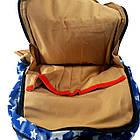 Брезентовый(джинсовый) малый рюкзак Lanpad, фото 8