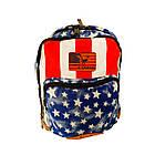 Брезентовый(джинсовый) малый рюкзак Lanpad, фото 6