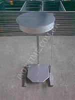 Стойка держатель для мусорных пакетов с крышкой