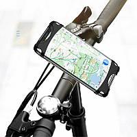 Велосипедный держатель для телефона (для смартфонов с диагональю экрана до 6'') Usams US-ZJ053