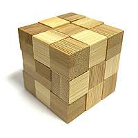 Бамбуковая головоломка Eureka Змеекуб
