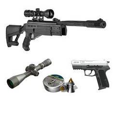 Пневматические винтовки и аксессуары