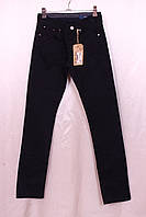 Мужские брюки джинсового покроя