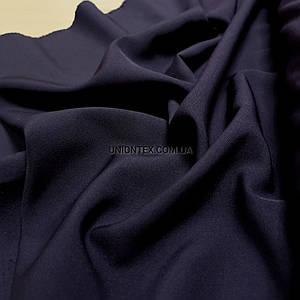 Ткань креп костюмка Барби баклажановая