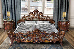 Ліжко Cleopatra Lux Simex Горіх