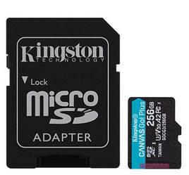 Kingston Canvas Go! Plus microSD (SDCG3/256GB)
