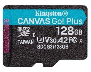 Kingston Canvas Go! Plus microSD (SDCG3/128GBSP)